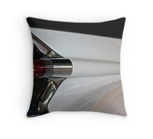 1959 Cadillac Fin Throw Pillow