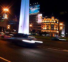 Buenos Aires Obelisque by aguakina