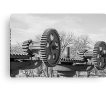 Wheels and Time  Canvas Print