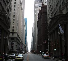 Rare Empty Street in Chicago by AshleyMarie