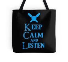 Hey! Listen! Hey! Tote Bag