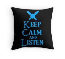 Hey! Listen! Hey! Throw Pillow