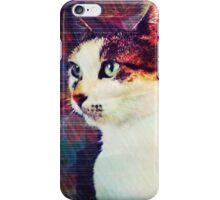 80s Cat iPhone Case/Skin