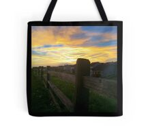 The barren fence Tote Bag