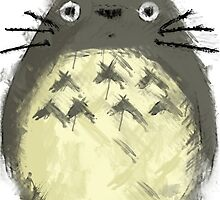 Totoro Painting  by NomadSenpai