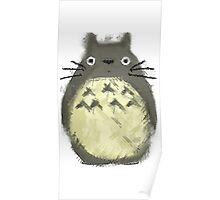 Totoro Painting  Poster