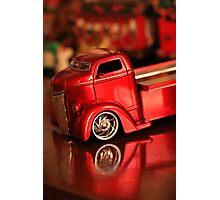 christmas truck! Photographic Print
