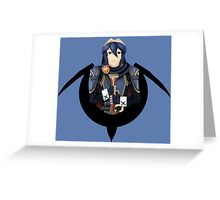 Lucina Preparing for Battle Greeting Card