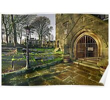 Haworth Church and The Parsonage Poster