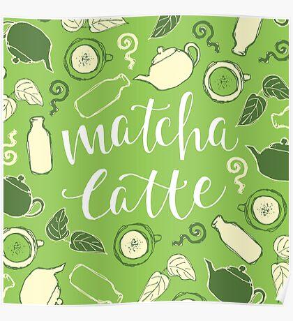 Matcha Latte Poster