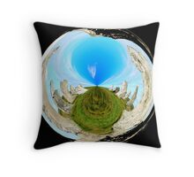 The power of the stones Throw Pillow