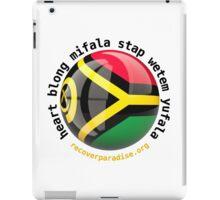 Vanuatu - heart blong mifala stap wetem yufala  iPad Case/Skin