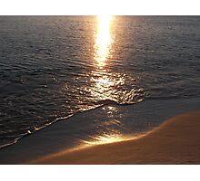 Sunset at Panama City Beach Photographic Print
