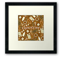 Chococcino Framed Print