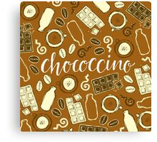 Chococcino Canvas Print