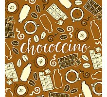 Chococcino Photographic Print