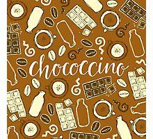 Chococcino Photographic Print