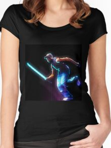 MOSES! NINJA! JEDI! Women's Fitted Scoop T-Shirt