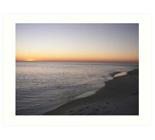 Panama City Beach Sunset Art Print