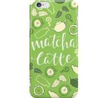 Matcha Latte iPhone Case/Skin