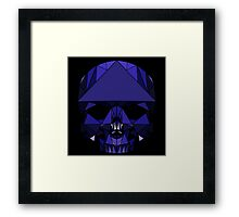 Crystal Skull (including tessellations) Framed Print