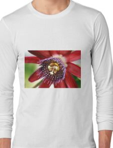 Red and Purple Passion Long Sleeve T-Shirt