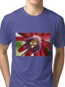 Red and Purple Passion Tri-blend T-Shirt