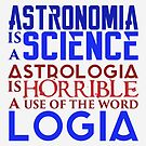 Astronomy vs Astrology by Eniac
