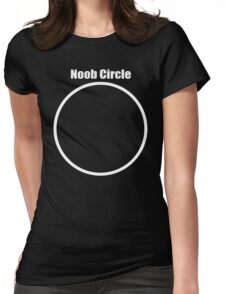 Noob Circle Womens Fitted T-Shirt