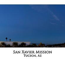 San Xavier Mission Panorama by Richard Valdez