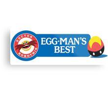 Egg-Man's Best Metal Print