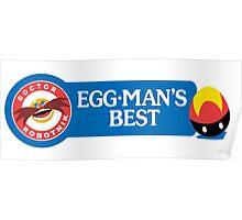 Egg-Man's Best Poster