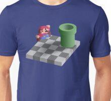 Warp Pipe Shadow Illusion Unisex T-Shirt
