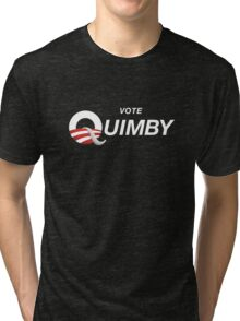 Vote Quimby Tri-blend T-Shirt