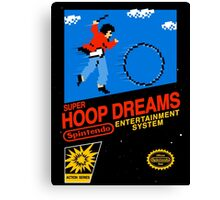 Hoop Dream Canvas Print