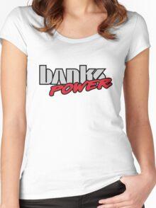 banks diesel power Women's Fitted Scoop T-Shirt