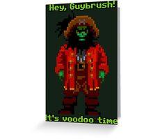 Lechuck Greeting Card