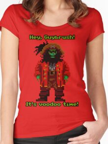 Lechuck Women's Fitted Scoop T-Shirt