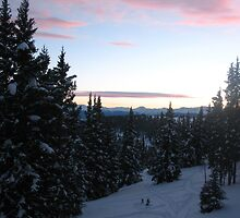 Sunset at Sangree Hut by Paul Magnanti