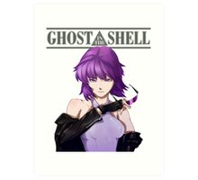 Ghost in The Shell anime shirt Art Print