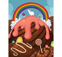 Candy Paradise Photographic Print