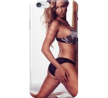 Glamour portrait of woman with blond hair wearing lingerie art photo print iPhone Case/Skin