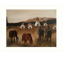 Indian Reservation Art Print