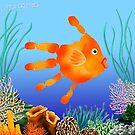 Coral Reef Critter by Carol Heath