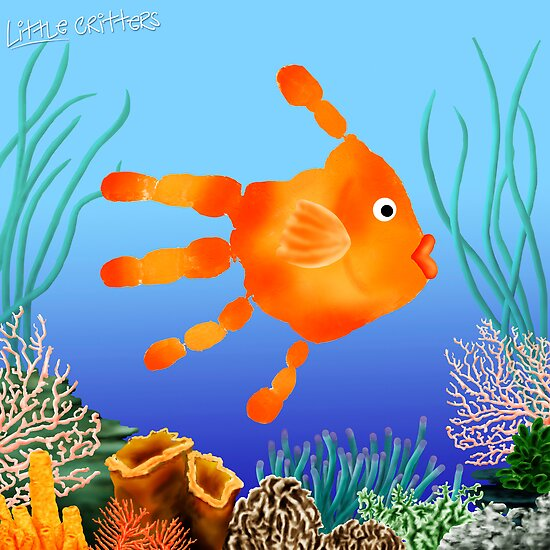 Coral Reef Critter by Carol Heath
