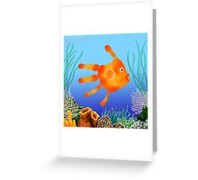 Coral Reef Critter Greeting Card