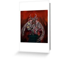 The Baphomet in its lair Greeting Card