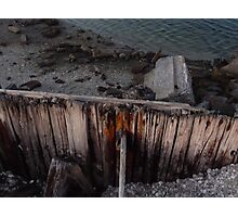 Decaying Pier Photographic Print