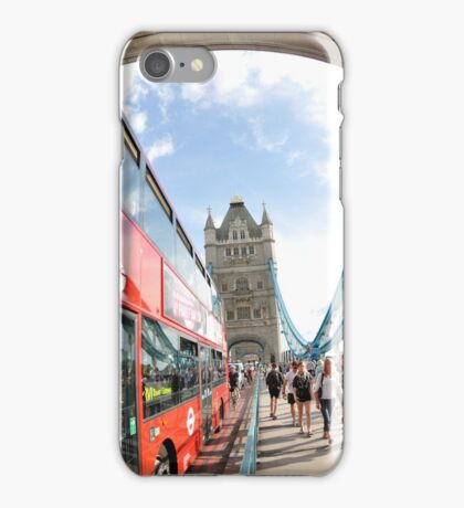 The Red London Bus iPhone Case/Skin