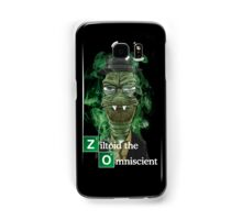 Ziltoid as Heisenberg - Black Samsung Galaxy Case/Skin